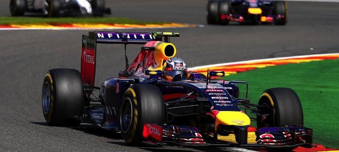 2014 Rd.12 ベルギーGP観戦記 リカルドが勝てる理由