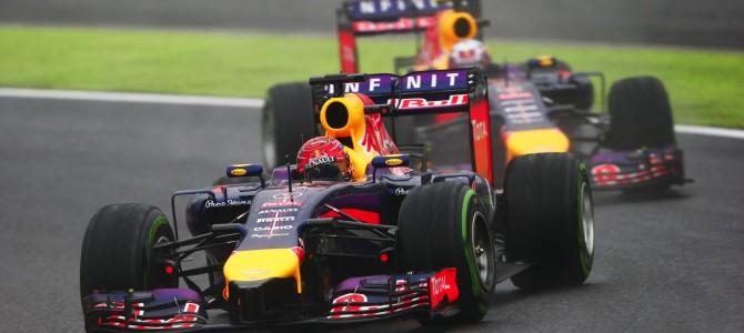 2014 Rd.15 日本GP観戦記 雨で復活したレッドブル