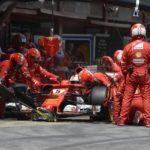 不可解なフェラーリの作戦